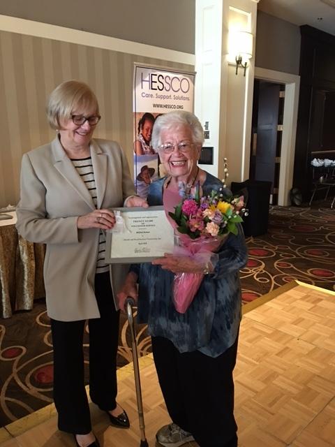 Millie Berman2 Sharon volunteer 20 years