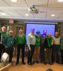 St Patrick's Day at Sharon