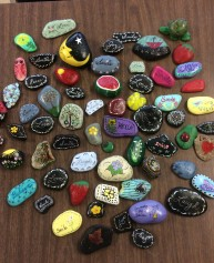 kindness rocks craft ladies