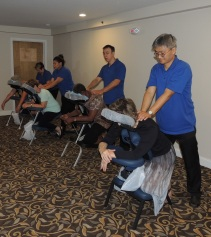Age Well with HESSCO Day 2017 Chair Massage